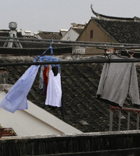 Rooftop Laundry ~ China